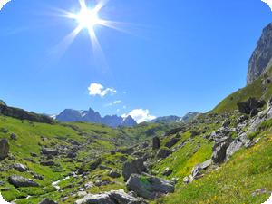 Les Univers de la Beauté : Sentier des Alpes